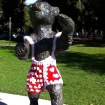 Happy Valentine's Day from the Griffith Park Bear