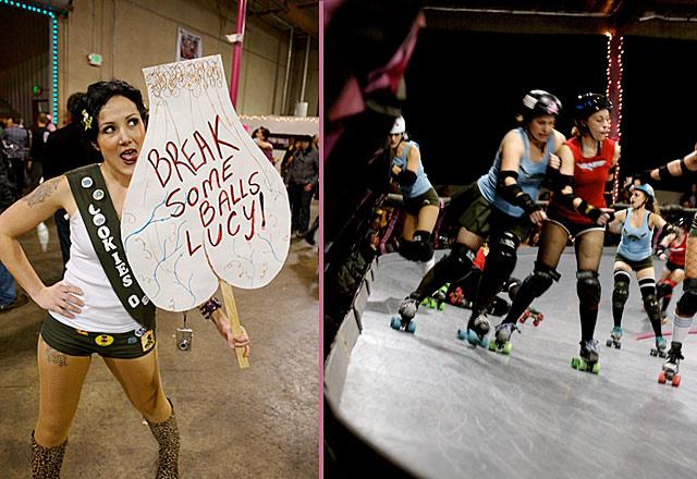 break balls lucy lick derby dolls