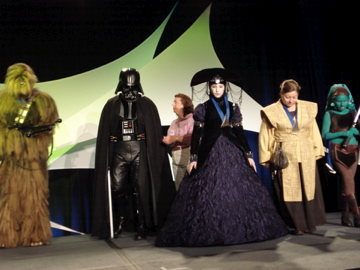 Star Wars costume pageant