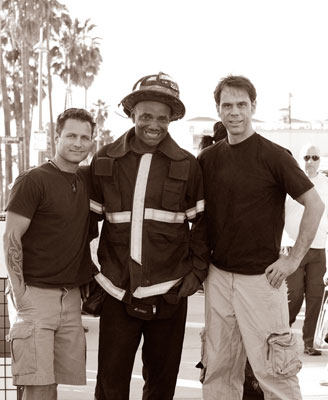 Rich Wysockey, Tony the Fireman and Marty Poole