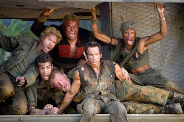 The Cast Of Tropic Thunder