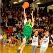 Santa Anita Jockeys and Basketball for Charity