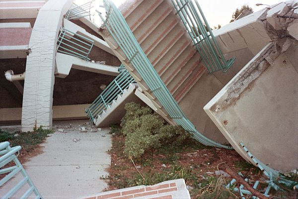 Parking Structure stairs