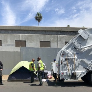 After The Mayor Visited Their Homeless Encampment, They Lost All Their Belongings