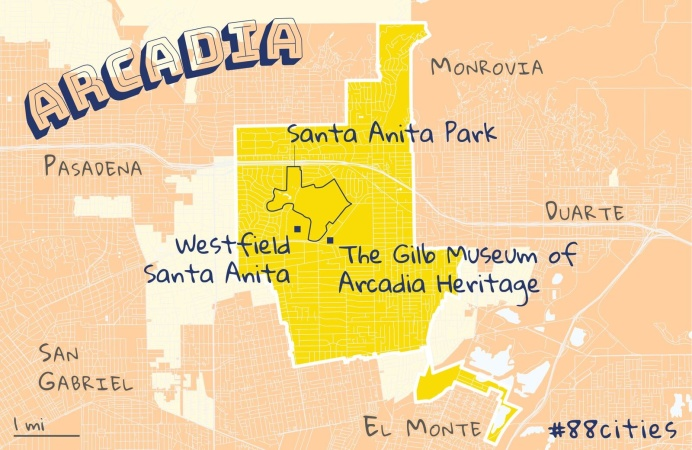 We're Exploring LA County's 88 Cities. Here's Your Guide To Arcadia: 'Chinese Beverly Hills'