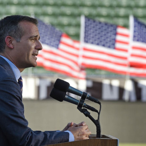 L.A. Mayor Who Is Still Not Running For President To Hit Another Swing State This Weekend