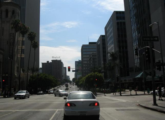 Koreatown's version of downtown