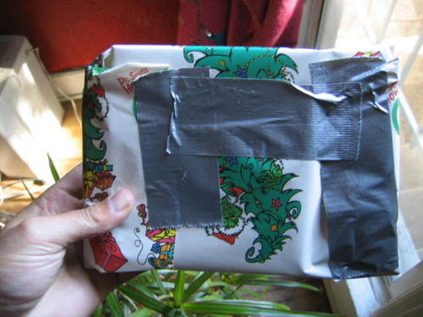 How To Wrap A Present Like A Man Laist