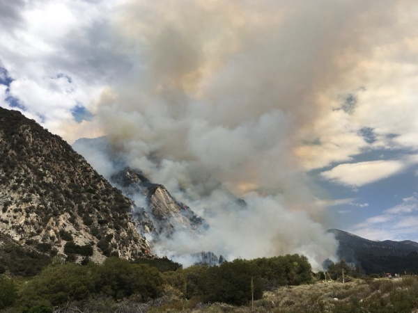 Valley Fire Evacuations In San Bernardino County