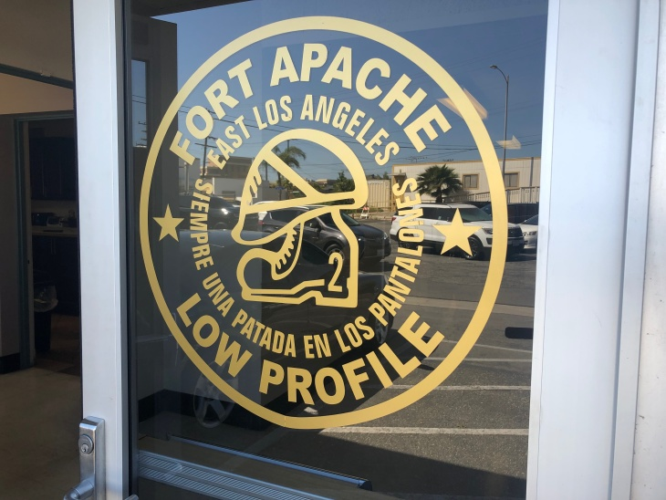 LA Sheriff's Oversight Panel To Consider Calling For Removal Of 'Fort Apache' Logo: LAist