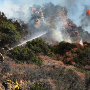 Pacific Palisades Brush Fire Burns 40 Acres; Evacuation Orders Lifted
