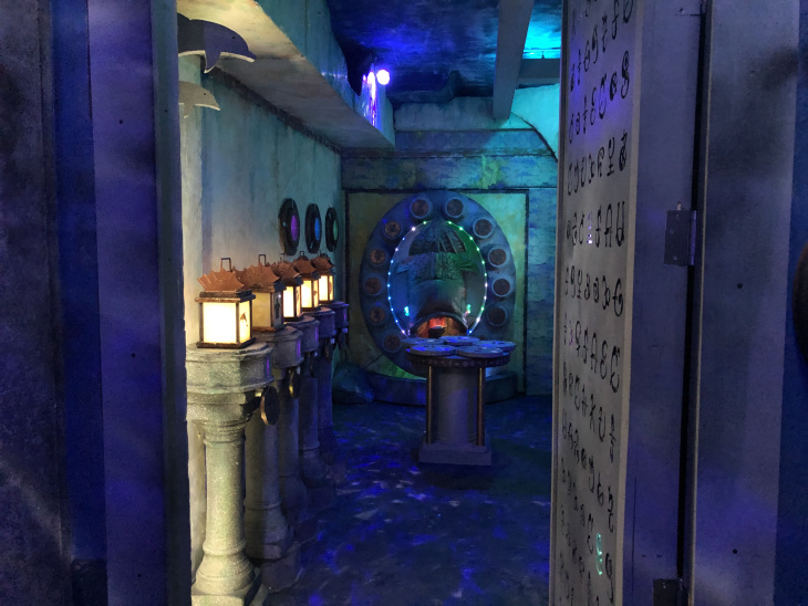A Childhood Obsession Led To This New Atlantis-Themed DTLA Escape Room: LAist