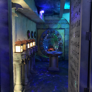 A Childhood Obsession Led To This New Atlantis-Themed DTLA Escape Room