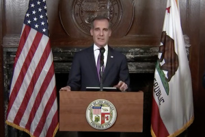 LA's Mayor Warns Of 'Tough Days Ahead' As He Moves to Aid City's Large Homeless Population