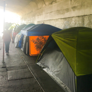 LA's Trash Trucks Could Start Making Regular Stops At Homeless Encampments