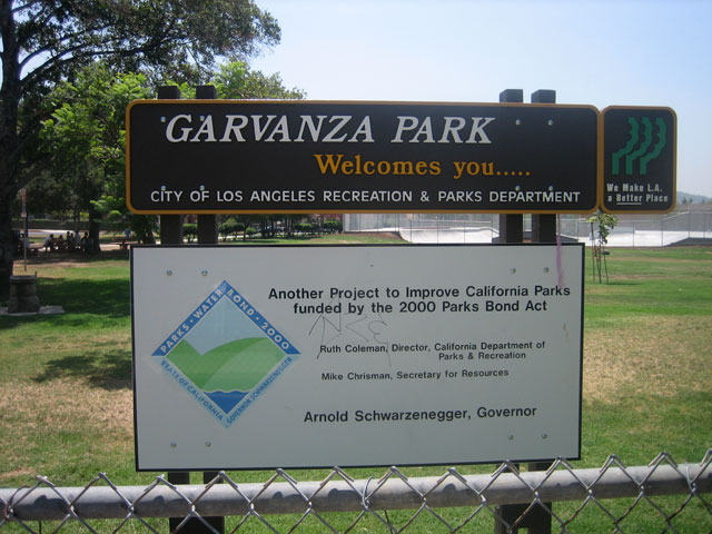 Welcome to Garvanza Park