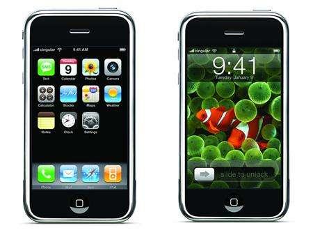 apple iphone close up