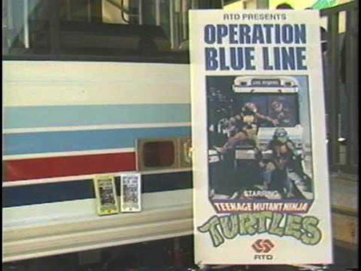That Time The Teenage Mutant Ninja Turtles Promoted LA Metro's Blue Line