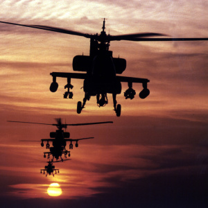 Those Were Apache And Blackhawk Helicopters Flying Over Los Angeles Tuesday. Here's Why