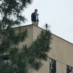 Rep. Darrell Issa Went Up On A Roof To Avoid Angry Constituents, Or Maybe Just Get Some Fresh Air