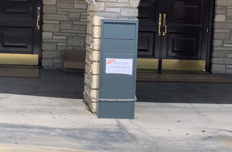 Fake Ballot Drop Boxes Have Popped Up In Southern California They Re Not Legal Updated Laist