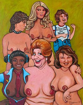 Facts of Life painting